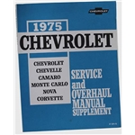 Dave Graham 3469-75 1975 Camaro Service and Shop Manual