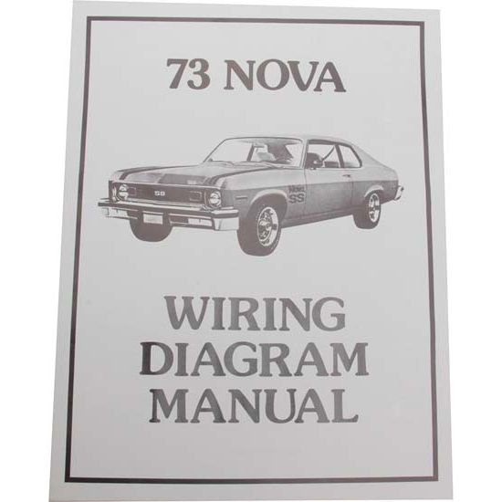 Wiring Harness 73 Nova : Wiring diagrams chevrolet by the numbers all