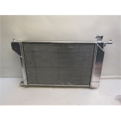 Garage Sale - AFCO Direct Fit 1966-67 Chevelle Aluminim Radiator, With Trans Cooler