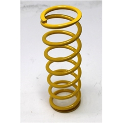 Garage Sale - AFCO Yellow 2-5/8 I.D. Coil-Over Spring, 10 Inch, 100 Rate