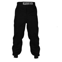 Garage Sale - Finishline Qualifier Single Layer Racing Pants, SFI-1, Black, Size Small