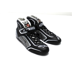 Garage Sale - Alpinestars 2015 Tech 1-T Racing Shoes, Black/Silver, Size 11