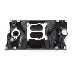 Edelbrock 21163 Performer Vortec Intake Manifold, Black, Chevy 5.7L