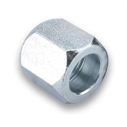 Earls 561804ERL Steel Tube Nut, Zinc Plated, -4 AN