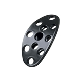 Lokar XBAG-6152 Midnight Series Lakester Steel Brake/Clutch Pedal Pad