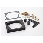Lokar XTCB-40EDK Midnight Series Edelbrock Pro-Flo Injection Spacer