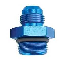 Straight High-Flow O-Ring -8 AN Hose to -10 AN Port Fitting