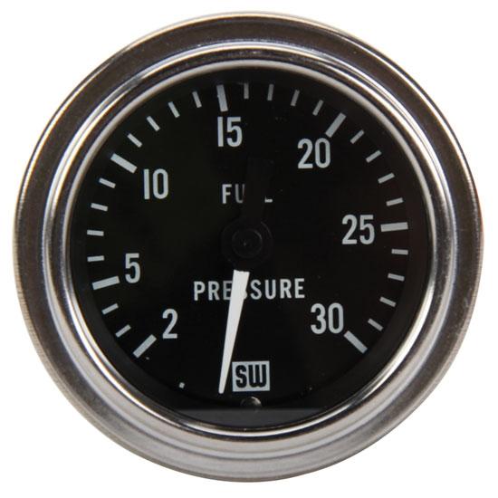 similiar stewart warner auto gauges white keywords stewart warner 82320 2 1 16 inch deluxe mechanical fuel pressure gauge