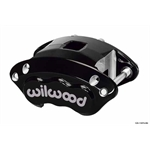 Wilwood 120-11870-BK D154 Single Piston Floater Caliper, Black