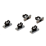 Mag Daddy 1/2 Inch Large Cable Daddy Magnetic Wire/Cable Fasteners, 5-Pack