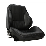 Scat Procar Rally 1050 Lowback Bucket Seat-Drivers Side-Black Vintage
