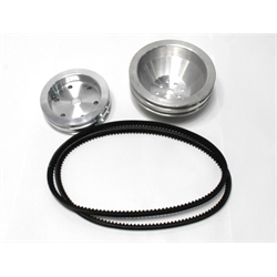 Garage Sale - AFCO Cast Pulley Combos for Small Block Chevy Short Pumps