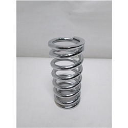 Garage Sale - 8 Inch 450LB 2-1/2 I.D. Chrome Coil Spring