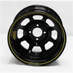 Garage Sale - Aero 55-184520 55 Series 15x8 Wheel, 4-lug, 4 on 4-1/2 BP, 2 Inch BS