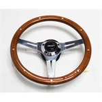 Garage Sale - Grant 1175 Collectors Edition 14 In 3-Spoke Rivet Wood Steering Wheel