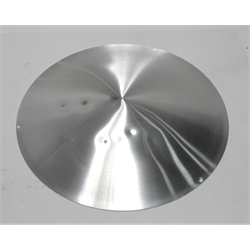 Garage Sale - Spun Aluminum Disc 15 Inch Wheel Cover