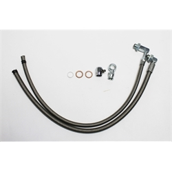 Garage Sale - Gotta Show 131151 1965-79 Braided GM Power Steering Hoses