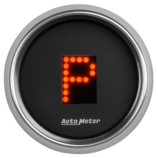 Digital Indicator Gauge : Auto meter cobalt digital prndl trans shift indicator