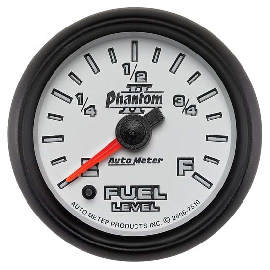 Auto Meter 7510 Phantom II Digital Stepper Motor Fuel Level Gauge
