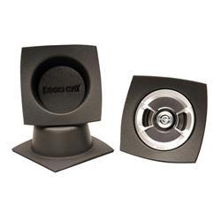 DEi 050331 Boom Mat Speaker Baffle, 6-1/2 Inch Round Slim