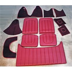Garage Sale - T-Bucket Interior Kits, Burgundy