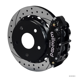 Wilwood 140-13321-D FNSL 4R Rear Brake Kit, Small Ford, Bronco