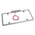 Billet Aluminum License Plate Holder w/ Light