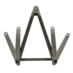 M&W Chromoly Jacobs Ladder, Plain Finish