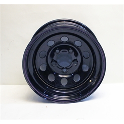 Garage Sale - Black Circle Track Wheel, 15x7, 5 on 4 3/4 Inches, Non-Beadlock