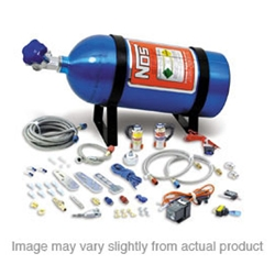 NOS 05122NOS Import Nitrous Dry System, 40-75 HP w/10 lb. Bottle