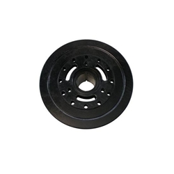 1970-90 Chevy 454 Harmonic Balancer, 8 Inch, Black