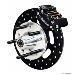 Wilwood 140-1016-D DLS Front Drag Brake Kit, 1967-72 GM, Drilled