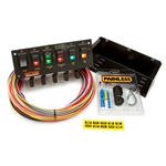 Painless Wiring 50305 6-Switch Rocker Circuit Breaker Panel