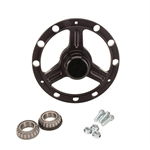 Stallard Chassis Micro/Mini Sprint Front Wheel Hub, Black Anodized