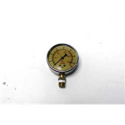 Garage Sale - AFCO AD85416X 0-15 PSI Liquid Filled Pressure Gauge