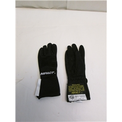 Garage Sale - Black Impact Racing JG4 Junior Racing Gloves - Small