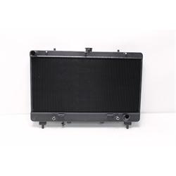 Garage Sale - Afco 80259B 2010-Up Camaro Aluminum Radiator, Anodized Black Finish