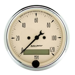 Auto Meter 1887 Antique Beige Air-Core Speedometer Gauge