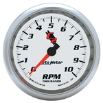 Auto Meter 7297 C2 Air-Core In-Dash Tachometer Gauge, 3-3/8 Inch