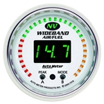 Auto Meter 7378 NV Digital Wideband Air/Fuel Ratio Gauge, 2-1/16 Inch