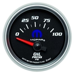 Auto Meter 880015 Mopar Air-Core Oil Pressure Gauge, 2-1/16 Inch