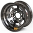 Aero 30-984020BLK 30 Series 13x8 Inch Wheel, 4 on 4 BP, 2 Inch BS
