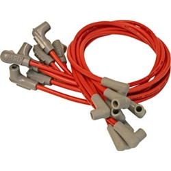 MSD 30829 Super Conductor Plug Wires,BB Chevy, With 8541 Crab Cap