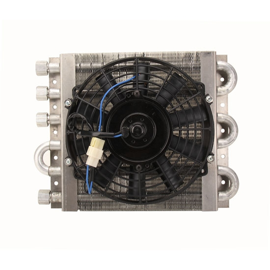 derale 13900 remote transmission cooler kit shipping perma cool 13311 maxi cool dual circuit cooler coil w 10 inch fan
