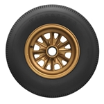 Coker Tire 682284 Firestone Indy Tire, 12.00-15