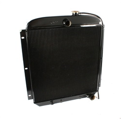 Walker Z-AC514-1 Z-Series 1954 Chevy Pick-Up Radiator w/ A/C Condenser