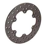 Wilwood 160-3306 Drilled Steel Racing Brake Rotor, 10-3/4 x .35 Inch