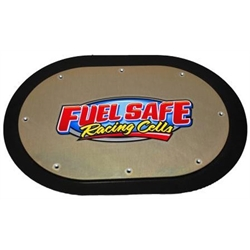 Fuel Safe 7 x 12 Inch Aluminum Fuel Cell Cover Plate
