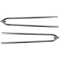 Front Hairpin Radius Rods, 27 Inch, Polished Stainless