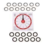 Shim-Dex Spark Plug Shims, 24 Pack, Close Clearance